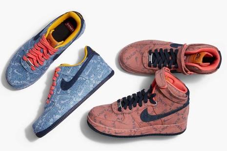¿Zapatillas vaqueras o 'jeans' para los pies? Esto pasa cuando Levi's y Nike unen fuerzas