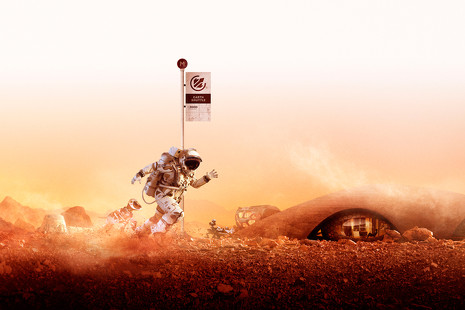 'Moving to Mars': así es la exposición que te lleva de Londres ¡a Marte!