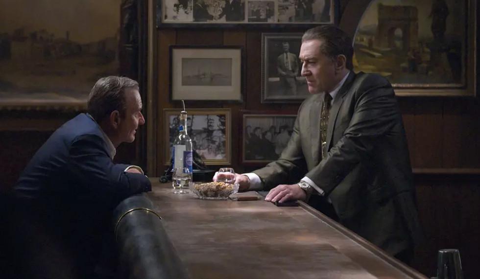 Escena de 'The Irish Man', la película de Scorsese para Netflix. |