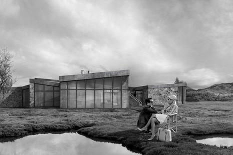 Dionisio González exhibe en Madrid sus islas de cemento y hormigón